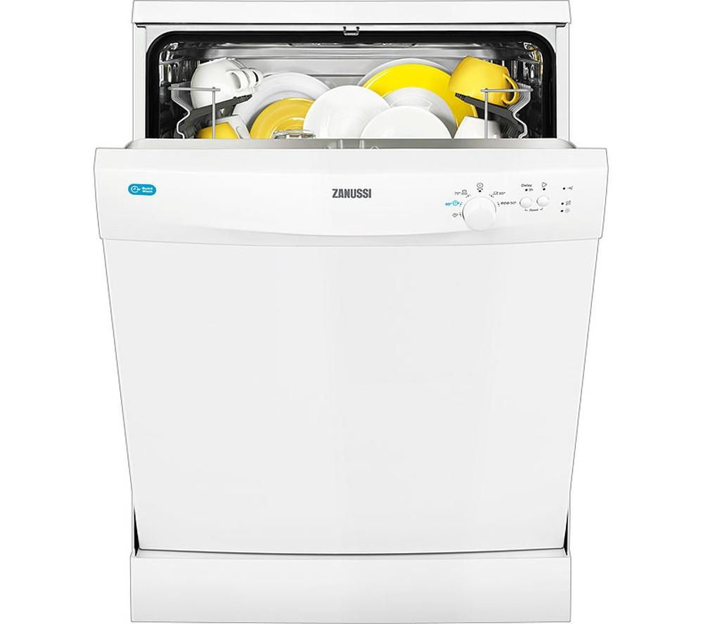 ZANUSSI ZDF21001WA Full-size Dishwasher - White