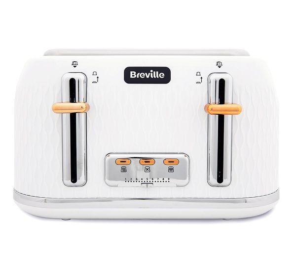 BREVILLE Curve VTT787 4 Slice Toaster