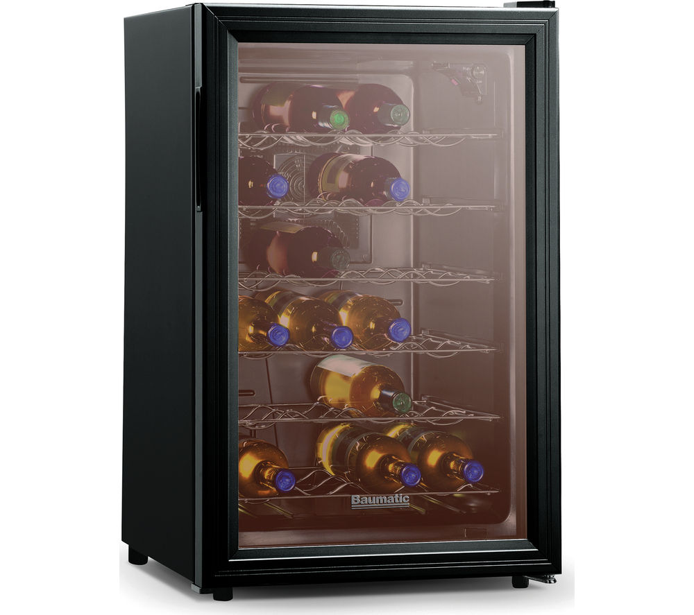 BAUMATIC BW28BL Wine Cooler - Black