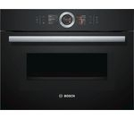 BOSCH CMG656BB6B Built in Smart Combination Microwave - Black