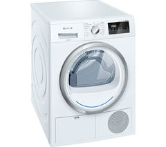 SIEMENS WT45H200GB Heat Pump Tumble Dryer - White