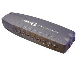 SLx 27823RG/03 6-Way TV Signal Amplifier