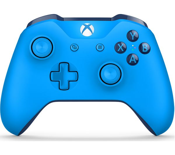 Image of MICROSOFT Xbox One Wireless Controller - Blue