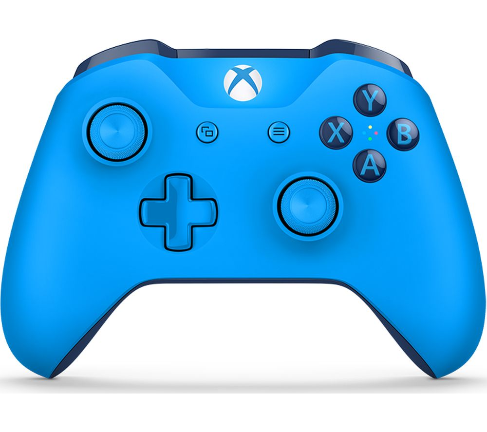 MICROSOFT Xbox One Wireless Gamepad - Blue, Blue