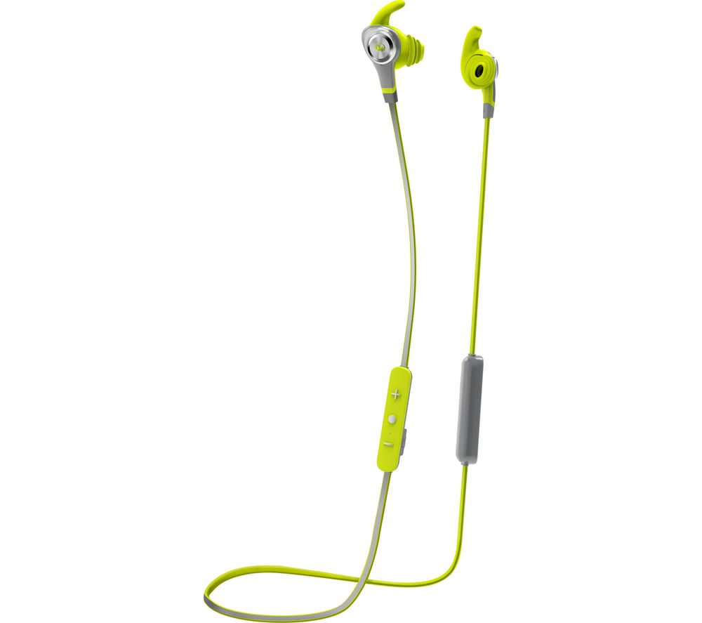 MONSTER iSport Intensity Wireless Bluetooth Headphones - Green