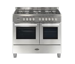 BRITANNIA Sonetto 100DF TC Dual Fuel Range Cooker - Stainless Steel