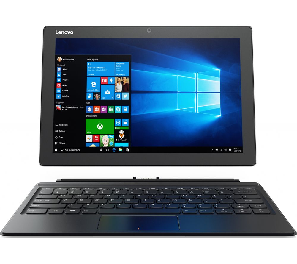 "LENOVO MIIX 510 12.2"" 2 in 1 - Silver + Office 365 Home - 1 year for 5 users + LiveSafe Premium - 1 user / unlimited devices for 1 year"