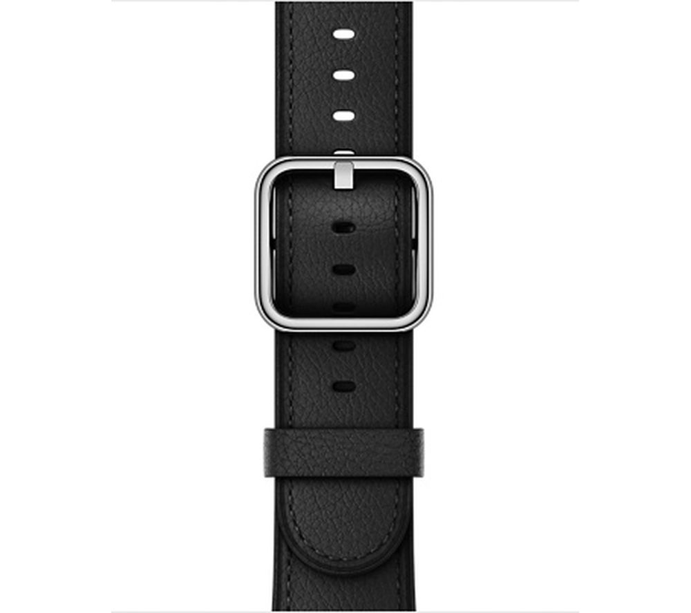 APPLE Watch 42 mm Classic Buckle - Black, Black cheapest retail price