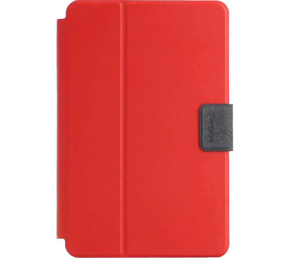 TARGUS SafeFit 9-10 Inch Rotating Universal Tablet Case - Red