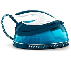 PHILIPS PerfectCare Compact GC7805/20 Steam Generator Iron - Aqua Blue