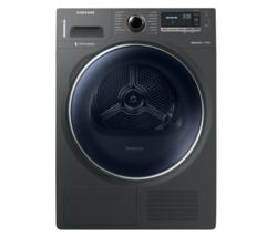 SAMSUNG DV90M8204AX/EU Smart 9 kg Heat Pump Tumble Dryer - Graphite