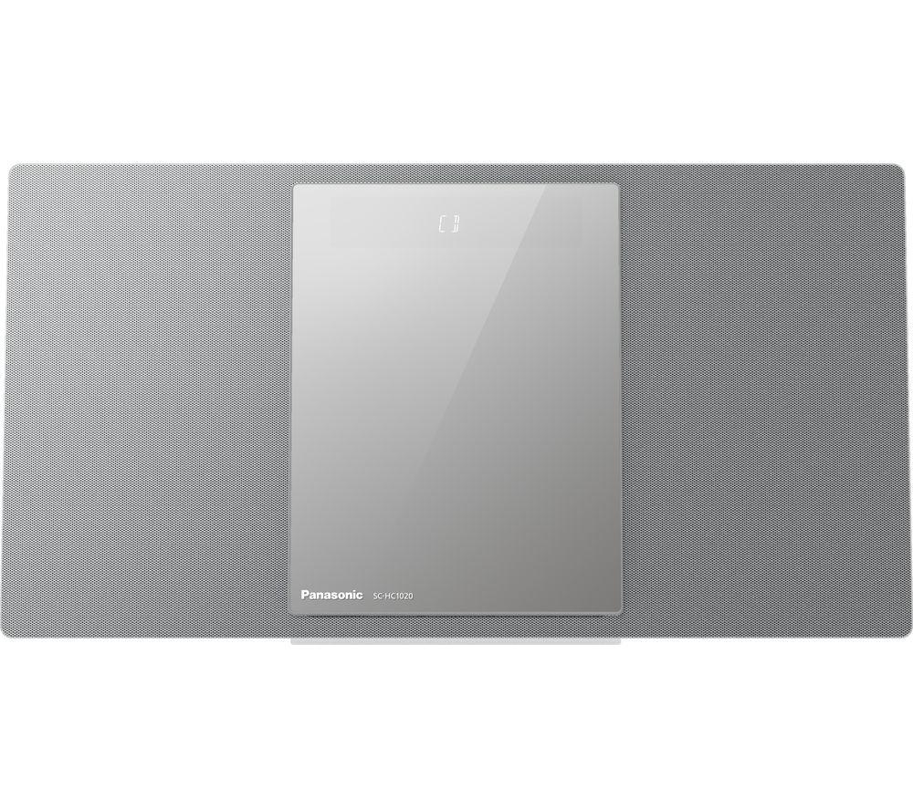 PANASONIC SC-HC1020EBS Wireless Flat Panel Hi-Fi System - Silver