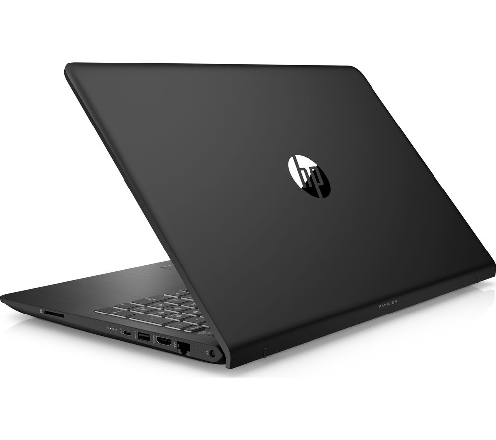 "HP Pavilion Power 15-cb061na 15.6"" Laptop - Black + L15BUN16 15.6"" Laptop Case, Wireless Mouse & Screen Wipes - Black"