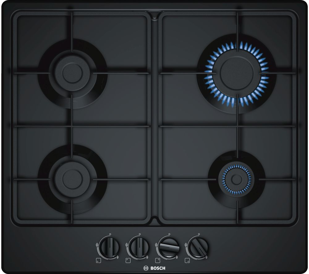 BOSCH PGP6B6B60 Gas Hob - Black