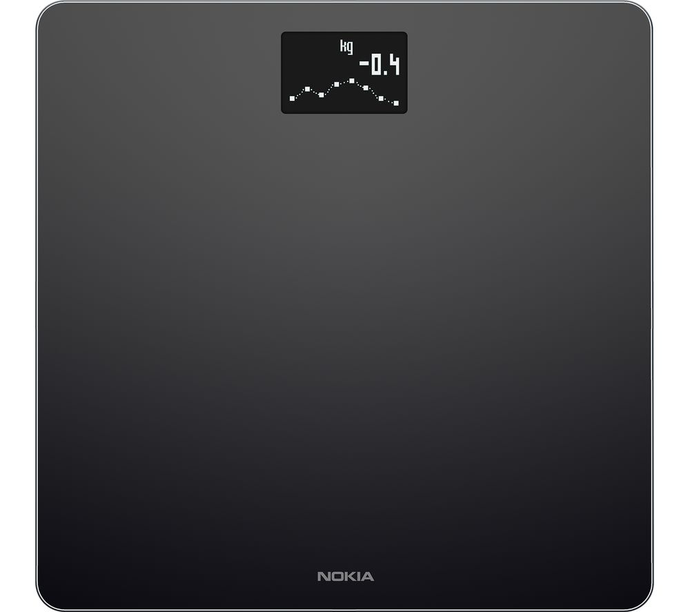 NOKIA Body WBS06 BMI Smart Scale - Black