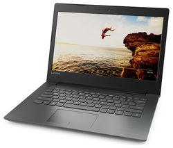 "LENOVO IdeaPad 320-14ISK 14"" Laptop - Black"