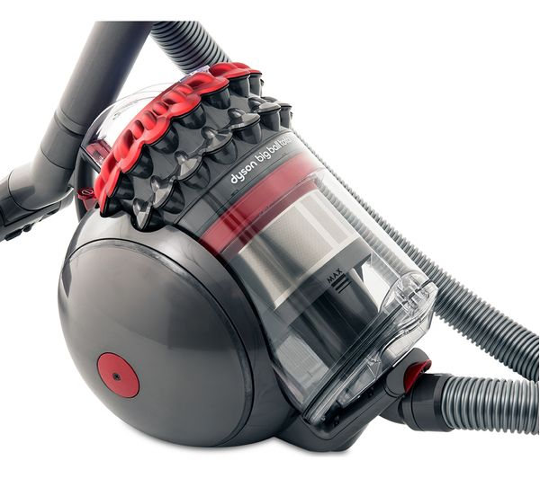 Buy Dyson Big Ball Total Clean 2 Cylinder Bagless Vacuum Cleaner Red Amp Iron Free Delivery Currys