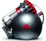 DYSON Big Ball Total Clean 2 Cylinder Bagless Vacuum Cleaner - Red & Iron