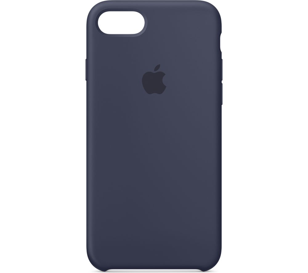 APPLE iPhone 8 & 7 Silicone Case - Midnight Blue, Blue cheapest retail price