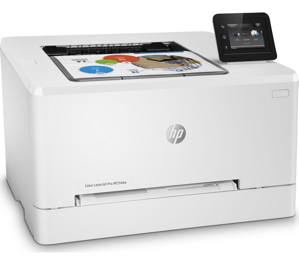 Hp laser printers best hp laser printers offers pc world hp colour laserjet pro m254dw wireless laser printer fandeluxe Images