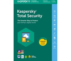 KASPERSKY Total Security 2018 - 1 year for 3 devices
