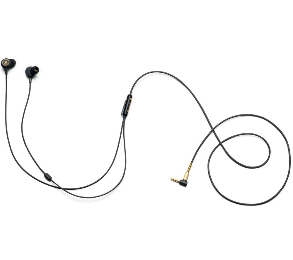 MARSHALL Mode EQ Headphones - Black & Brass
