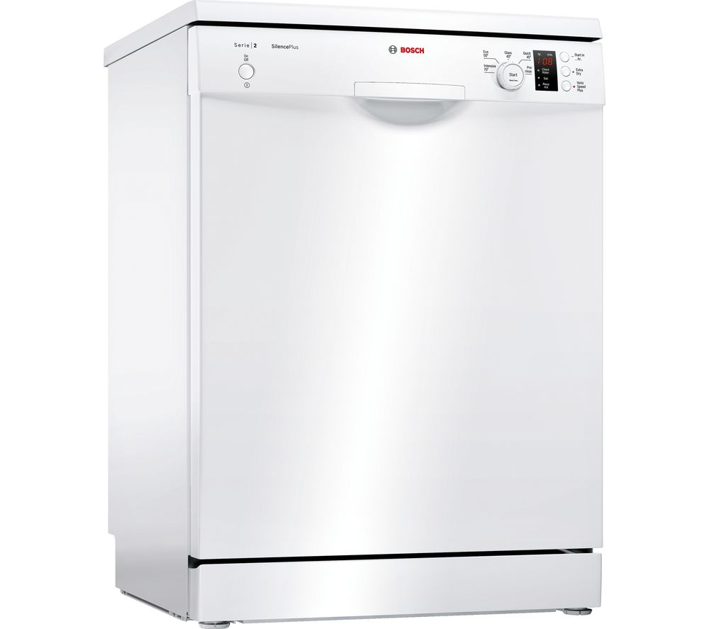 BOSCH Serie 2 ActiveWater SMS25EW00G Full-size Dishwasher - White