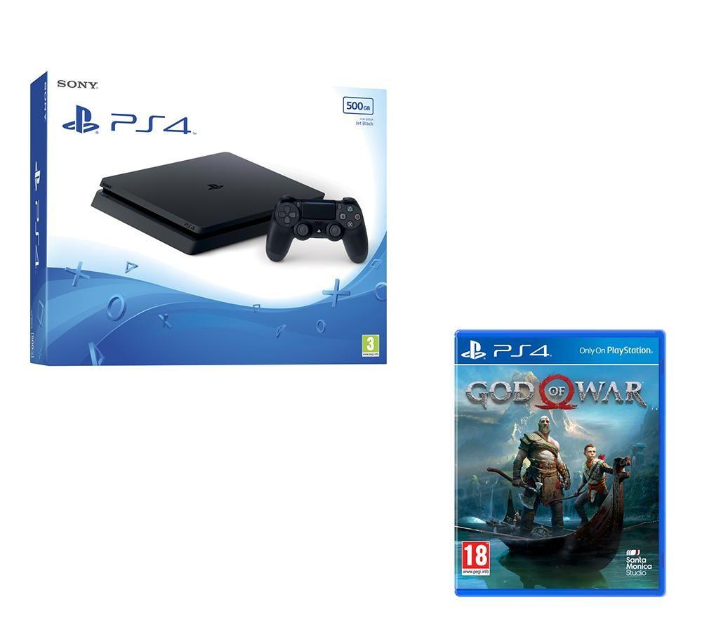 PLAYSTATION 4 Slim & God Of War Bundle - 500 GB