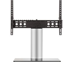 AVF B602BS 550 mm TV Stand with Bracket - Black & Silver