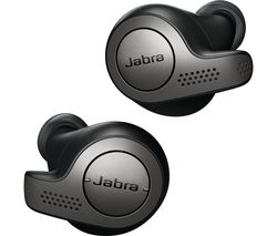 JABRA Elite 65t Wireless Bluetooth Headphones - Titanium Black