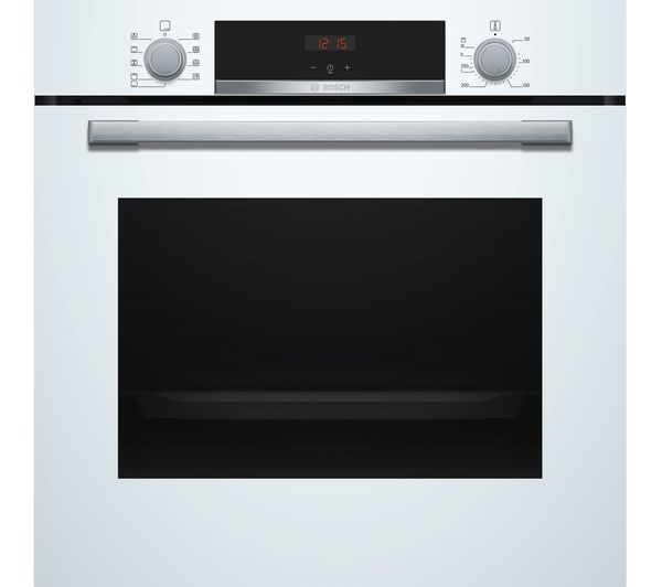 Image of BOSCH Serie 4 HBS534BW0B Electric Oven - White