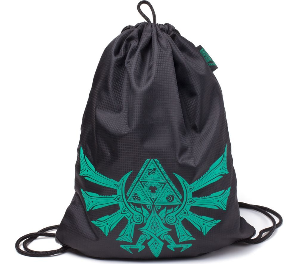 NINTENDO Zelda Crest Printed Gymbag