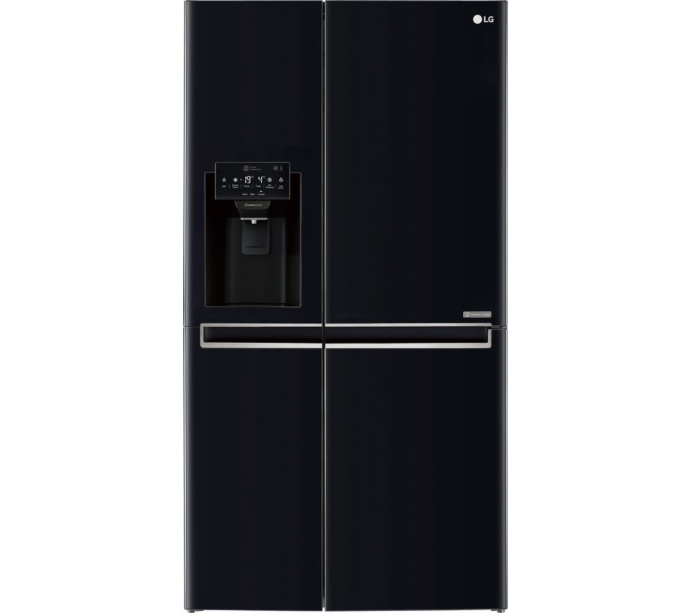 LG GSL761WBXV American-Style Smart Fridge Freezer - Black