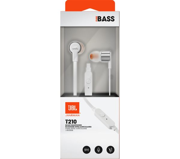 70b843fab86 Buy JBL T210 Headphones - Grey | Free Delivery | Currys