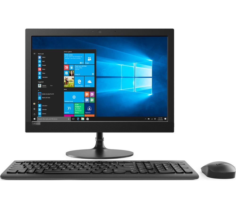 "LENOVO 330-20IGM 19.5"" Intel® Pentium® All-in-One PC - 1 TB HDD, Black"