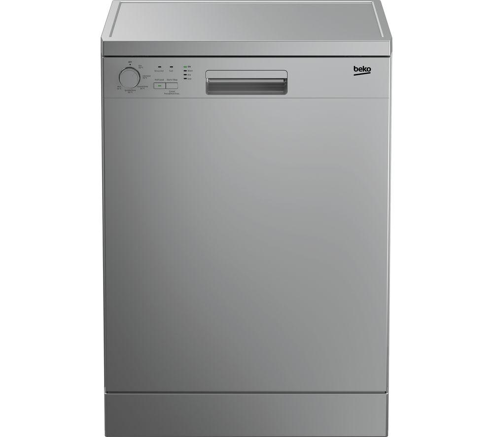 BEKO DFN05X11S Full-size Dishwasher - Silver