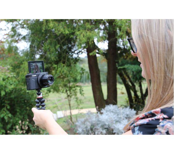 CANON PowerShot G7 X MK II Compact Camera Vlogger Kit