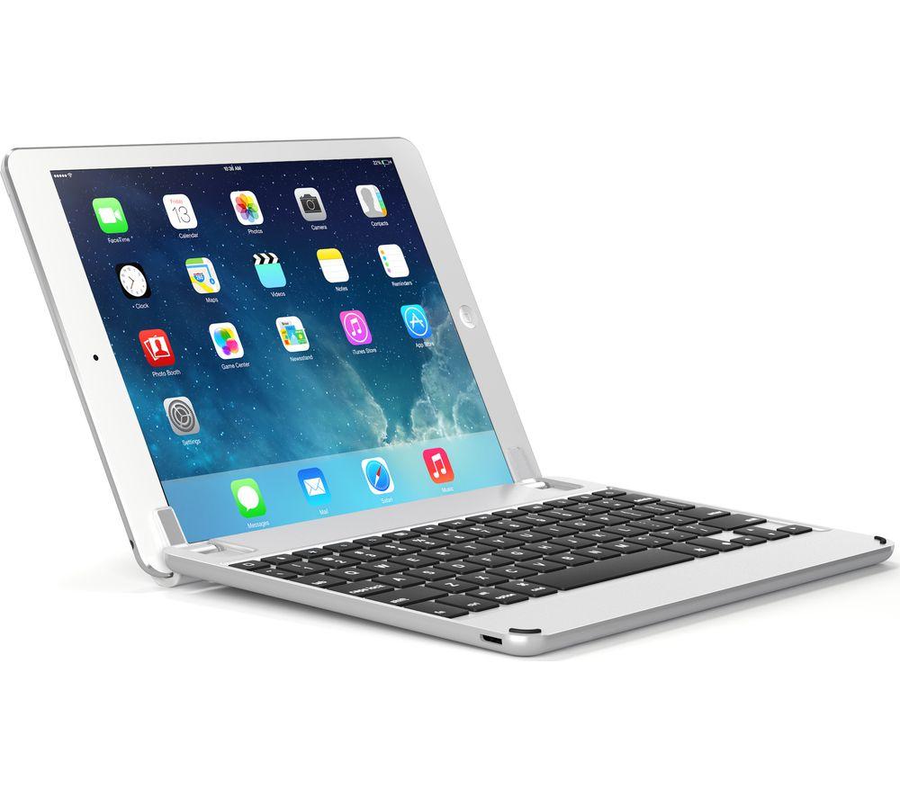 """BRYDGE BRY1011 9.7"""" iPad Keyboard - Silver"""