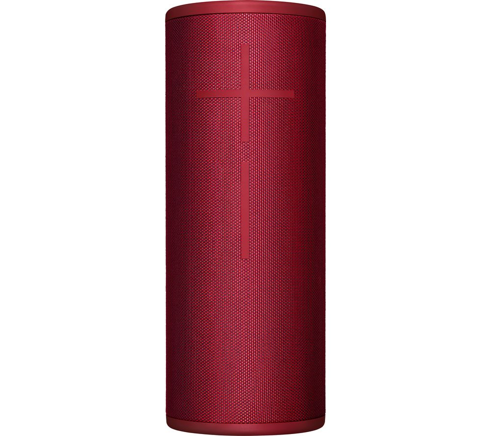 Image of ULTIMATE EARS MEGABOOM 3 Portable Bluetooth Speaker - Red, Red