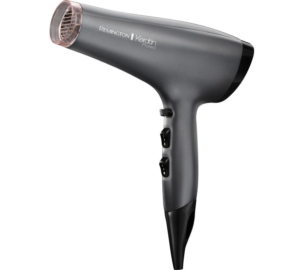 REMINGTON Keratin Protect AC8008 Hair Dryer - Grey