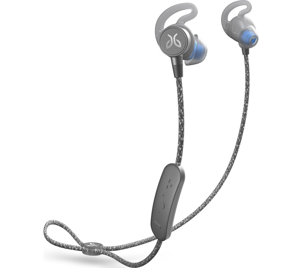 Image of JAYBIRD Tarah Pro Wireless Bluetooth Sports Earphones - Titanium & Glacier, Titanium