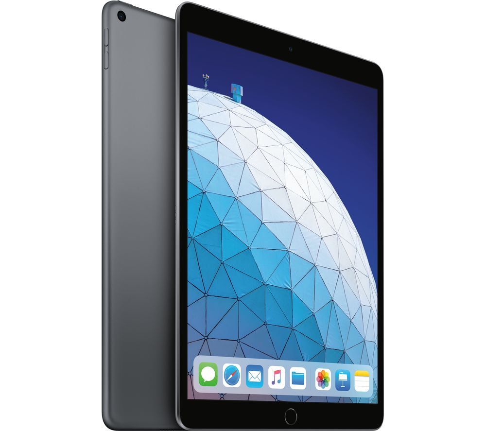 "Image of APPLE 10.5"" iPad Air (2019) - 64 GB, Space Grey, Grey"