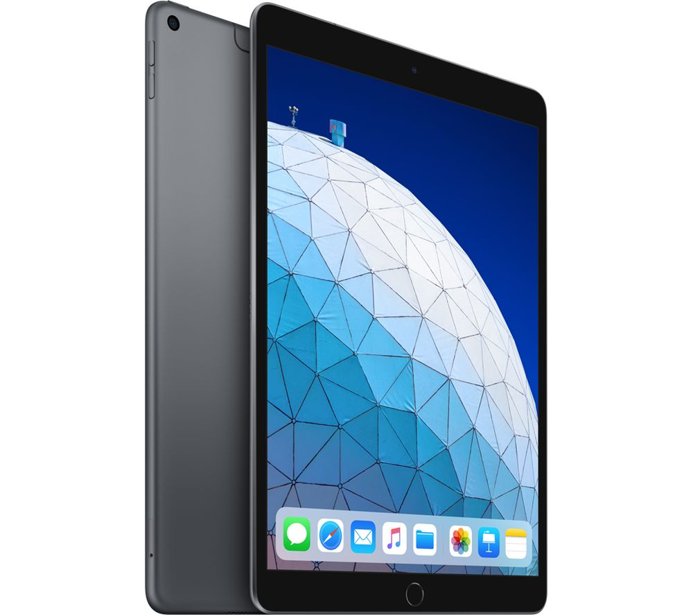 "APPLE 10.5"" iPad Air Cellular (2019) - 64 GB, Space Grey"