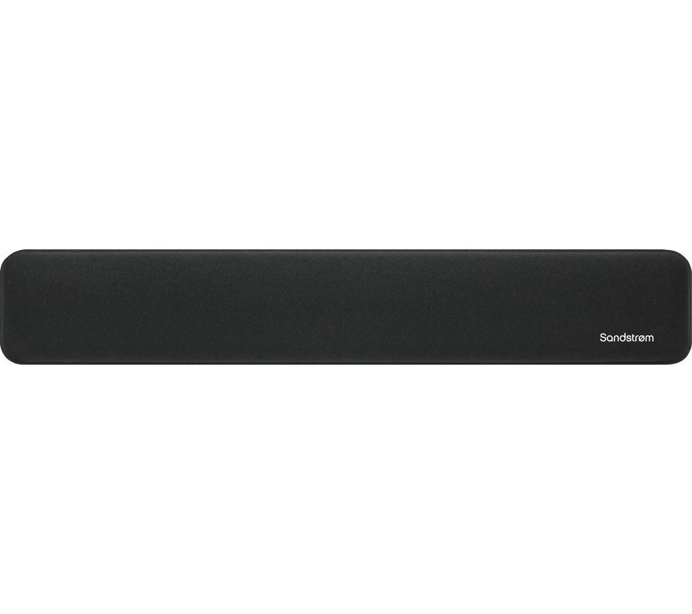 SANDSTROM SPADKW19 Ergonomic Wrist Rest - Black