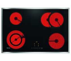 MIELE KM6522 Electric Ceramic Hob - Black Best Price, Cheapest Prices