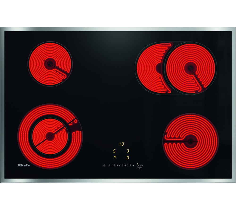 Image of KM6522 Electric Ceramic Hob - Black, Black