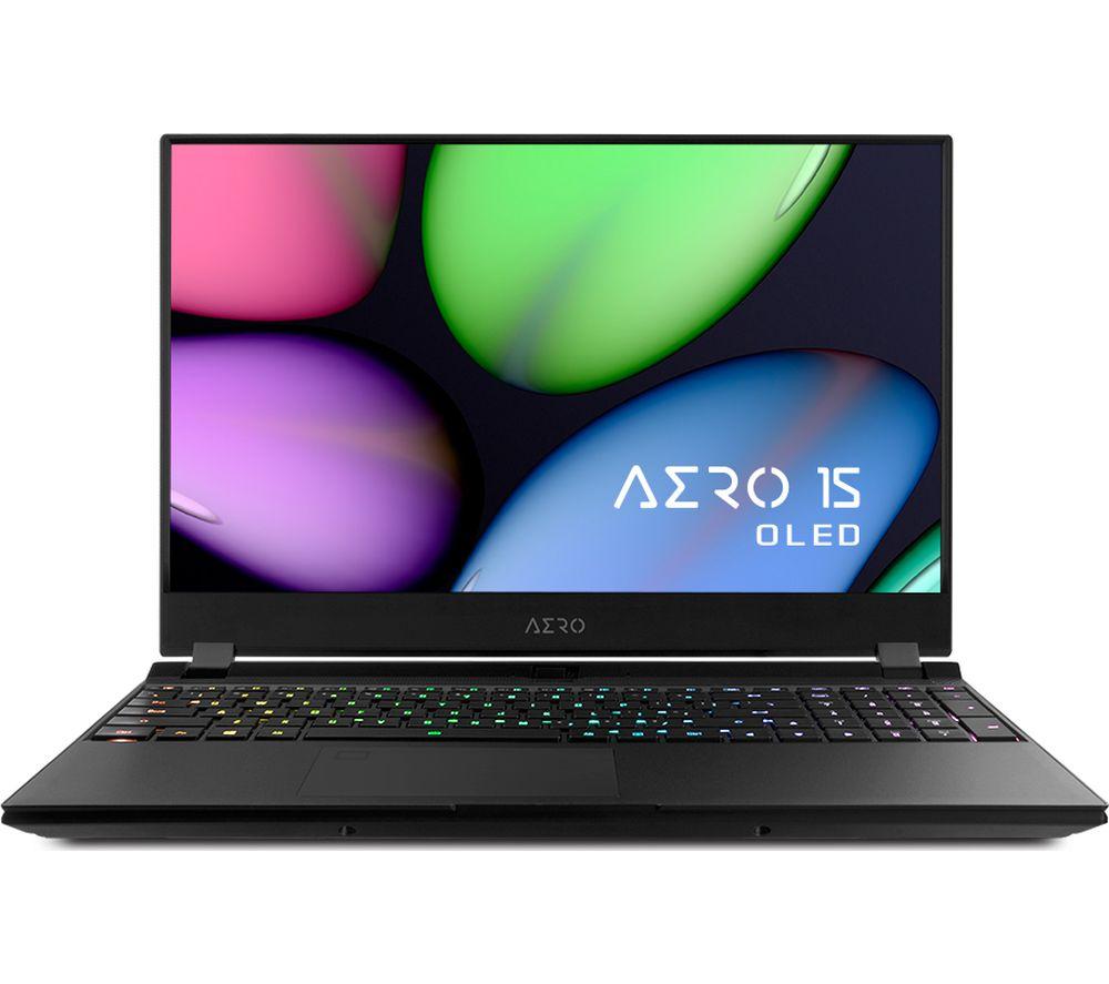 "Image of GIGABYTE AERO 15 OLED SA 15.6"" Intel® Core™ i7 GTX 1660 Ti Gaming Laptop - 256 GB SSD"