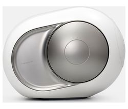Phantom Silver Bluetooth Speaker - White & Silver