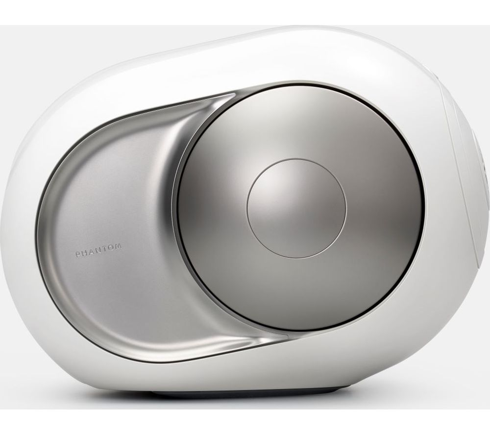 Image of Phantom Silver Bluetooth Speaker - White & Silver, Silver