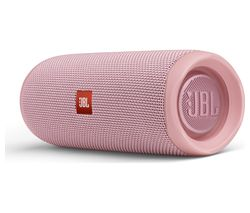 JBL Flip 5 Portable Bluetooth Speaker - Pink